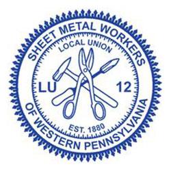 Gunning Mechanical Associations Sheet Metal Workers # 12